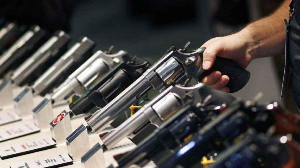 İnternetten silah satışı yapan yandı