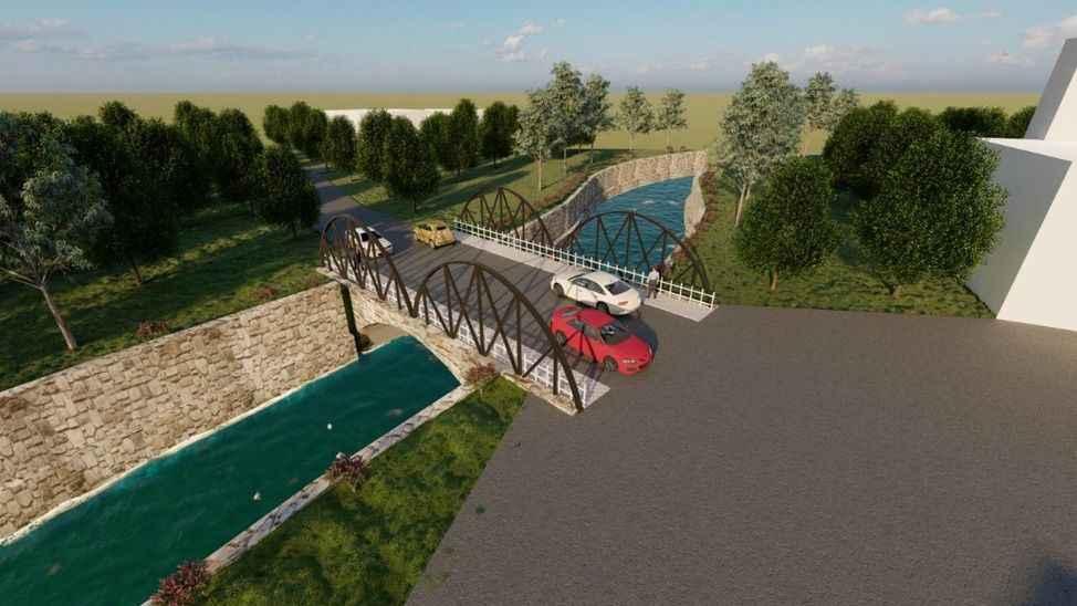 Hendek Kazimiye Mahallesi köprüsüne kavuşuyor