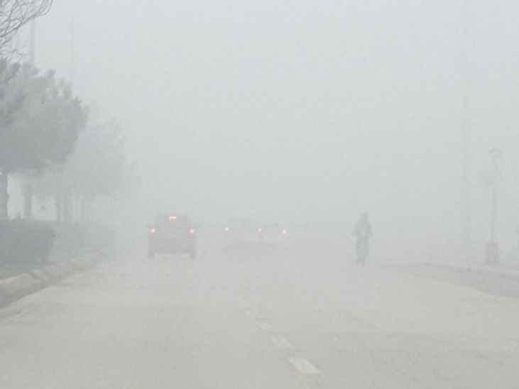 Adapazarlılar güne sisle başladı