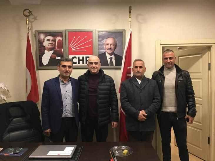 CHP'li Bayraktar'a hayırlı olsun ziyareti