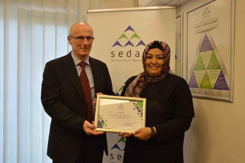 SEDAŞ Çağrı Merkezi ekibi, performans ödüllerini aldı