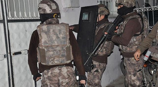Şehirde DEAŞ operasyonu:5 şüpheli serbest