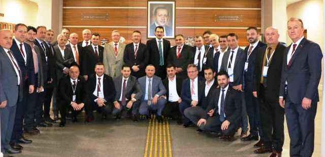 Ak Partili eski başkanlar Ankara'da