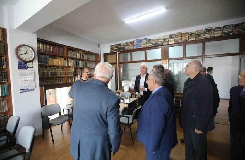 Vali Nayir'den Tozlu Vakfına ziyaret