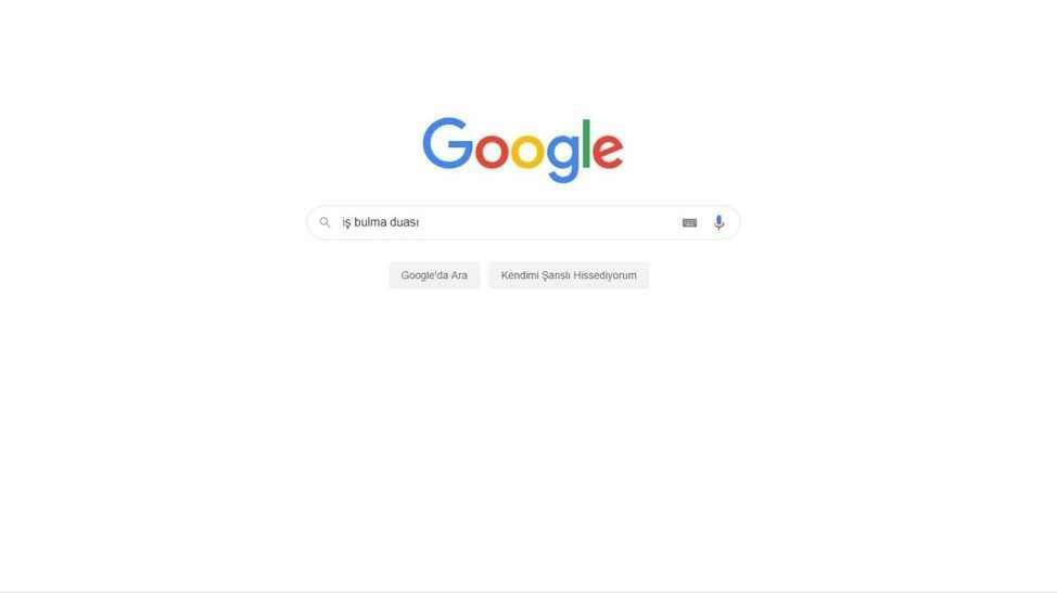İş bulma duası Google'da en çok arananlar listesine girdi