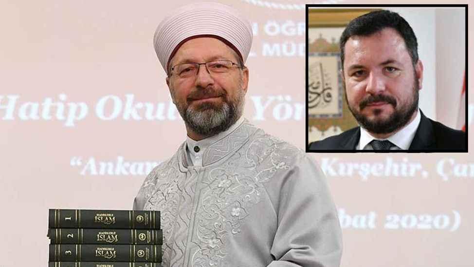 Diyanet İşleri Başkanı  Erbaş'ın Özel Kalem Müdürü'ne FETÖ soruşturması
