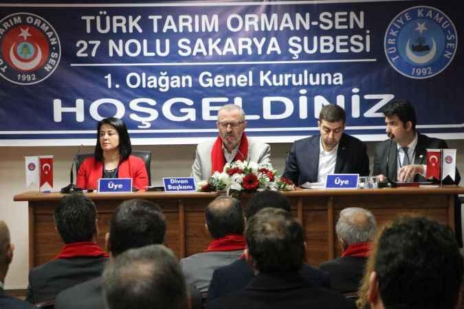 Türk Tarım Orman Sen Sakarya Şubesi 1. Olağan Genel Kurulu