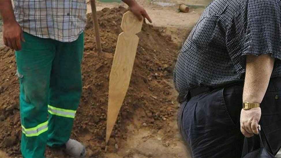 Obezler için ayrı mezar tahtası, Büyükşehir ihale ile satın alacak...