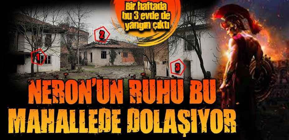 Bir haftada 3 ev yandı