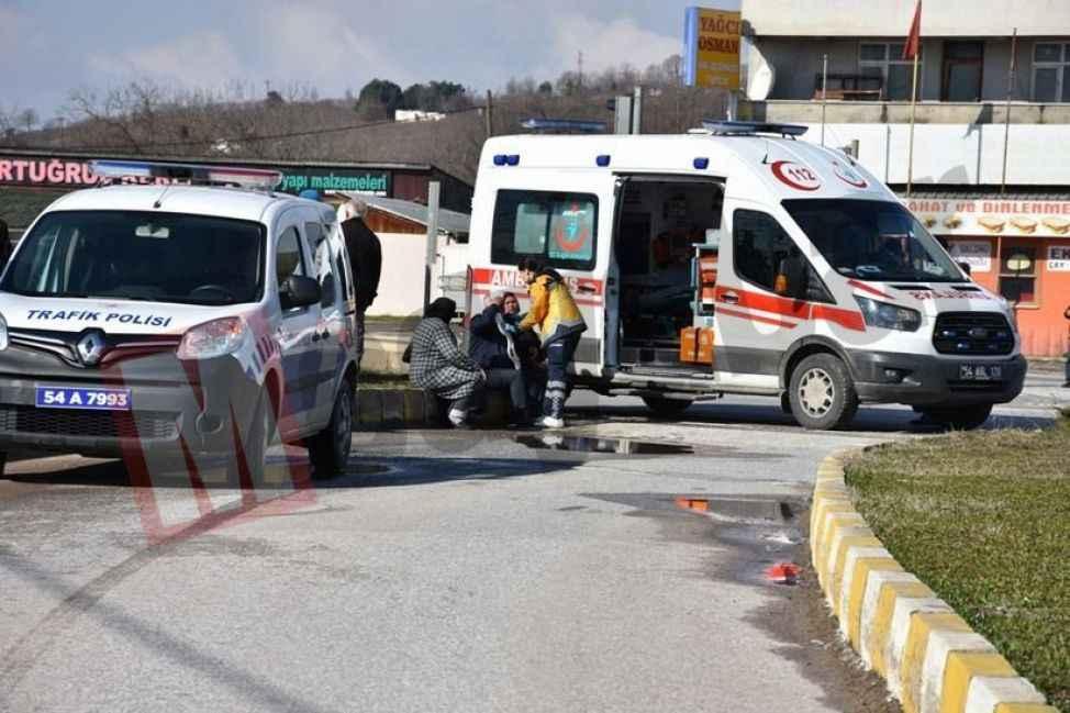 Hendek'te bir kaza daha: 4 yaralı