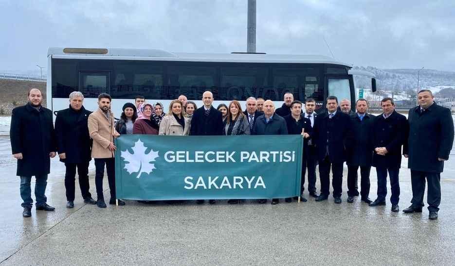 Sakarya Gelecek Partililer, Ankara İl Binası'nın açılışına katıldı