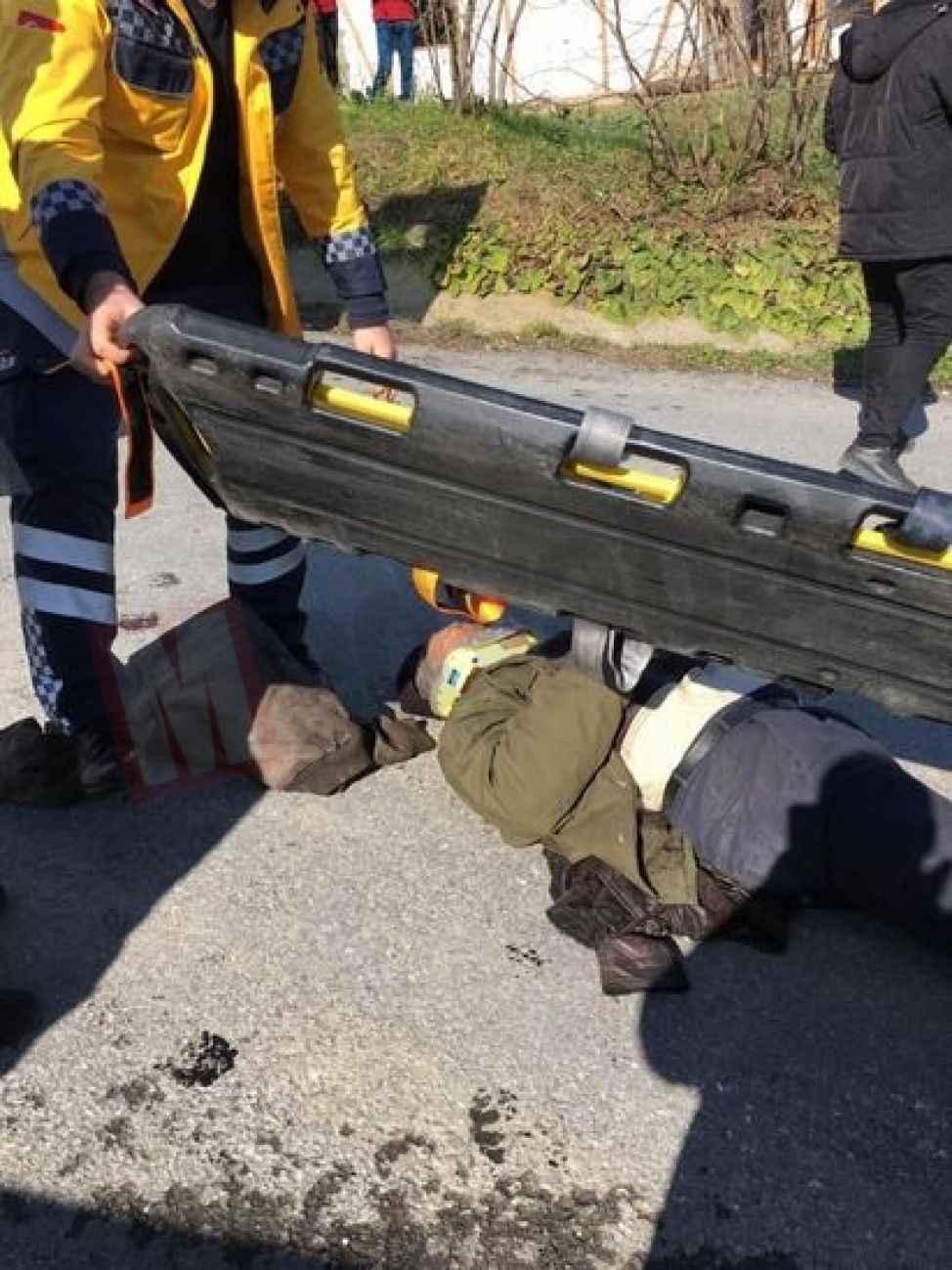 Akyazı'da patpat kazası:1 yaralı