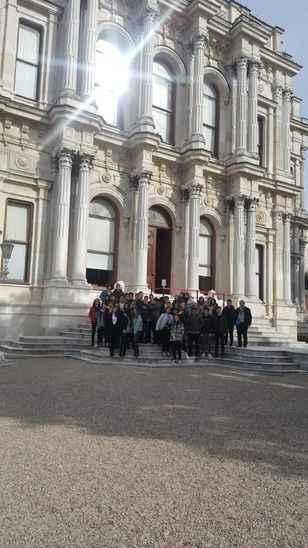 SAÜ Vakfı öğrencilerinin İstanbul turu