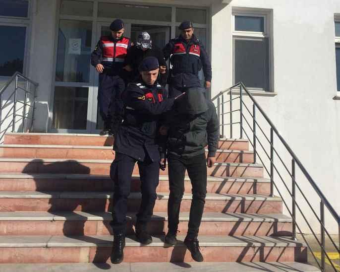 Jandarma ekipleri hırsız çetesini çökertti! 5 tutuklama