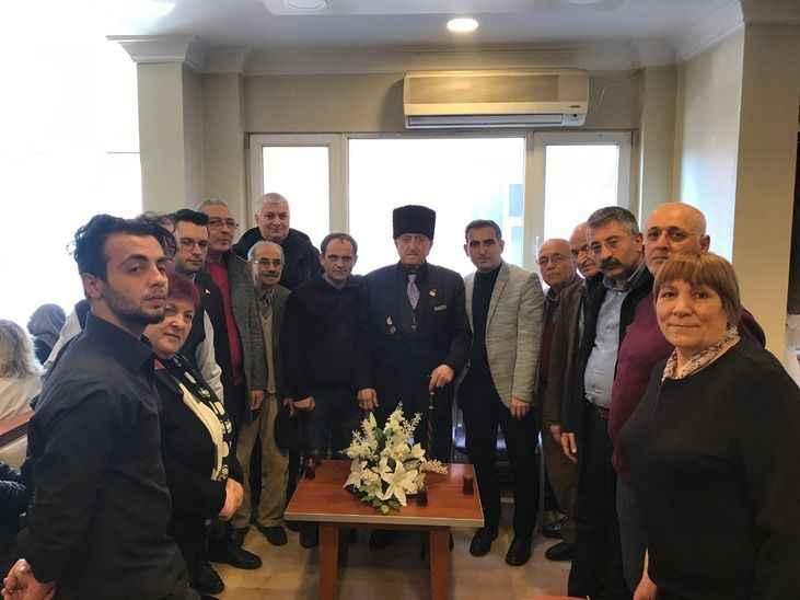 CHP il yönetimi teşekkür ziyaretinde