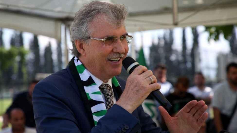 Başkan Yüce'den Sakaryaspor'a 500 bin TL'lik destek