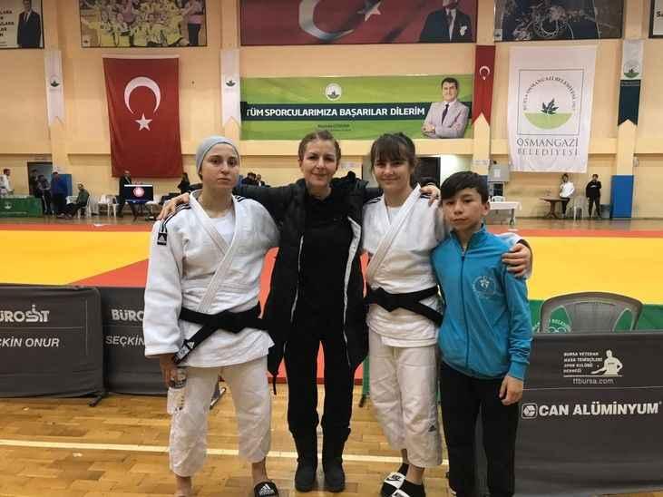 Karapürçekli judocuların final sevinci