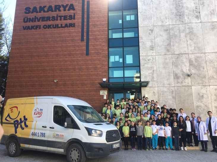 SAÜ Vakfı okulları Elazığ'daki kardeşlerini unutmadı