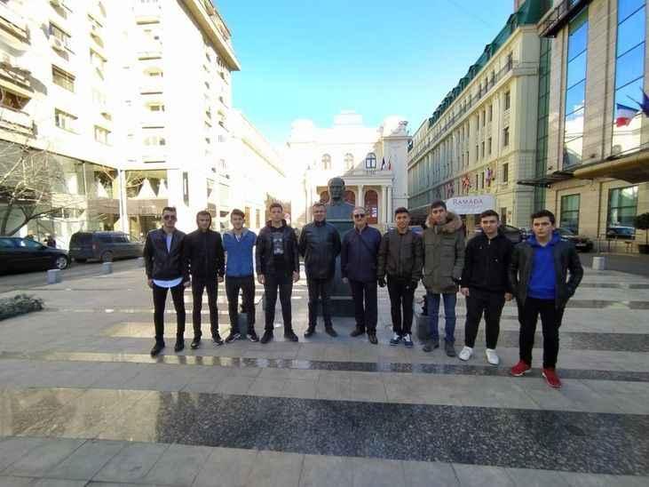 Sakarya MTAL öğrencileri staj için Romanya'ya gitti