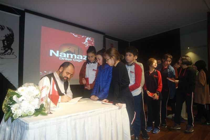 Mefkûre Ortaokulu Yazar Ahmet Bulut'u ağırladı