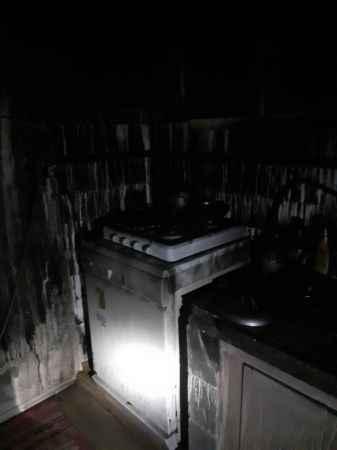 Sakarya'da 2 katlı evde çıkan yangın söndürüldü