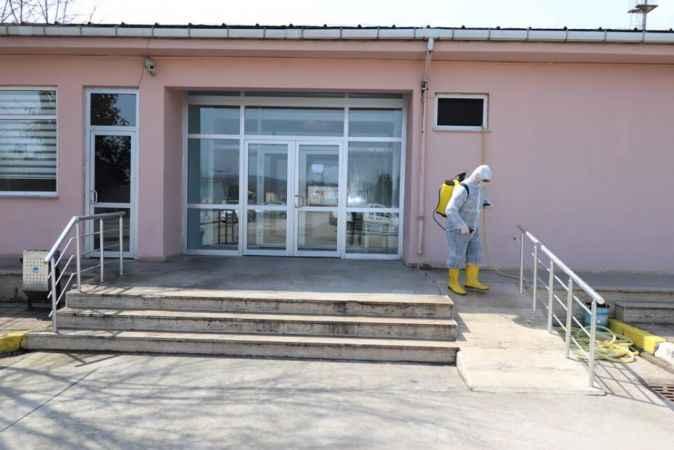 Sakarya Ceza İnfaz Kurumunda koronavirüse karşı üst düzey tedbir alındı