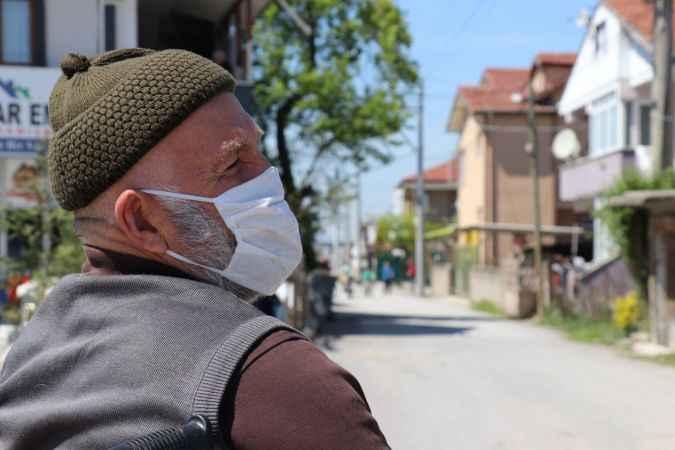 Sakarya'da karantinaya alınan sokakta hayat normale döndü