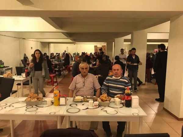 Çark Sanayi'de şoke eden toplu iftar!
