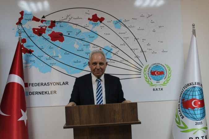 Balkan Rumeli Türkleri Konfederasyonundan sağlık çalışanlarına teşekkür mesajı