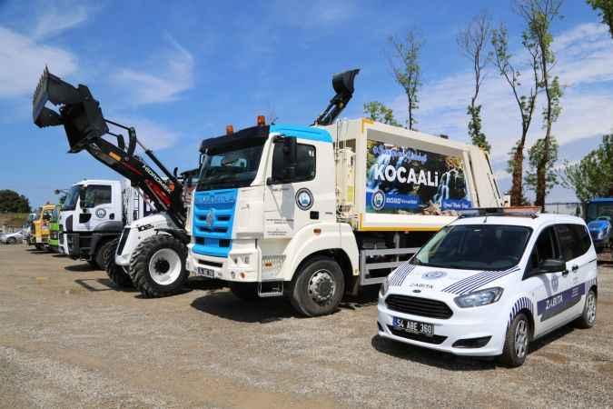 Kocaali Belediyesi'ne 4 yeni hizmet aracı