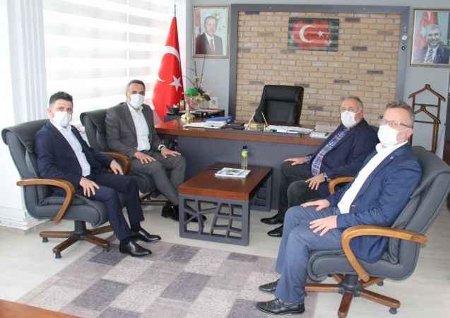 AK Parti İl Başkanı Tever'den teşkilat ve belediye ziyaretleri