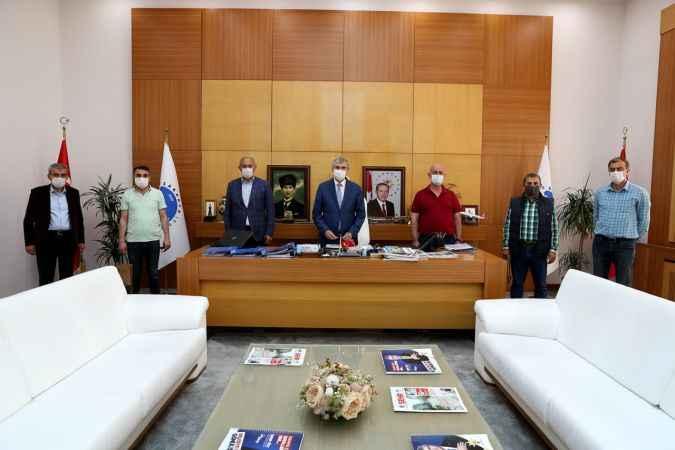 SESOB Başkanı Alişan'dan Ekrem Yüce'ye ziyaret