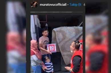 Ünlü sosyal medya fenomeni Murat Övüç Sakarya'da erzak dağıttı