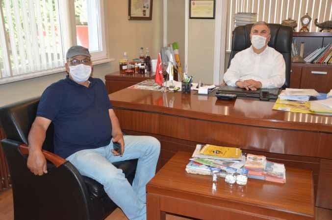 Edirne Arıcılar Birliği'nden Sakarya Arıcılar Birliği Başkanı Ör'e ziyaret