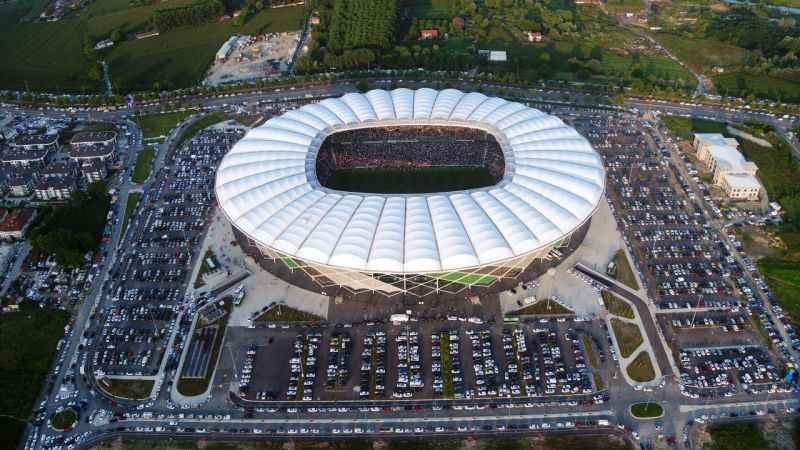 """Sakarya'da """"Yaşayan Stadyum"""" yeni dönemde sporcuları ağırlamak için bekliyor"""