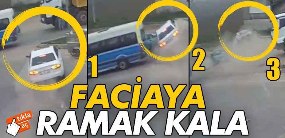 Trafik kazaları KGYS kameralarında!