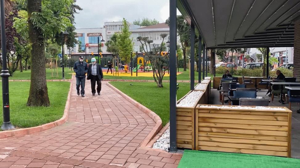 Zeki Cömert Parkı'na vatandaştan tam not