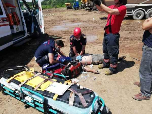 Kuzey Marmara Otoyolu şantiyesinde kaza: 1 ölü