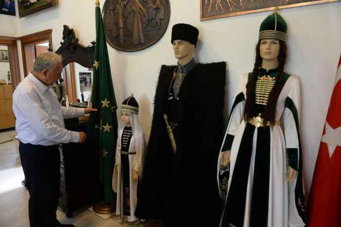 Çerkes kültürünü ve tarihini müzede tanıtıyorlar