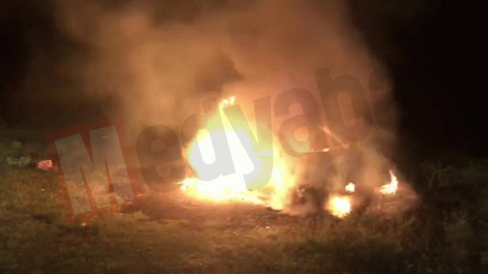 Kırantepe'de korku dolu gece! Alevlere teslim oldu…