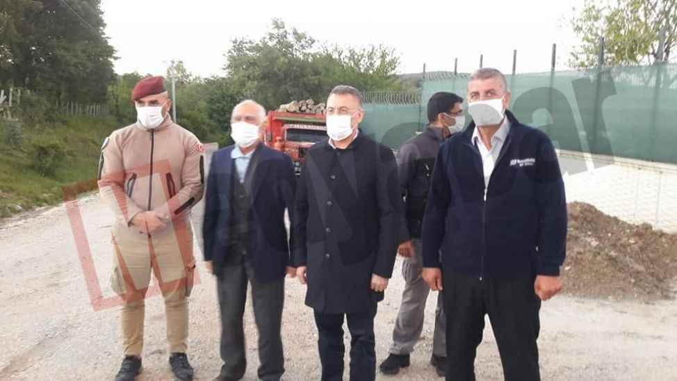 Cumhurbaşkanı Yardımcısı'nın sessiz sedasız Pamukova ziyareti