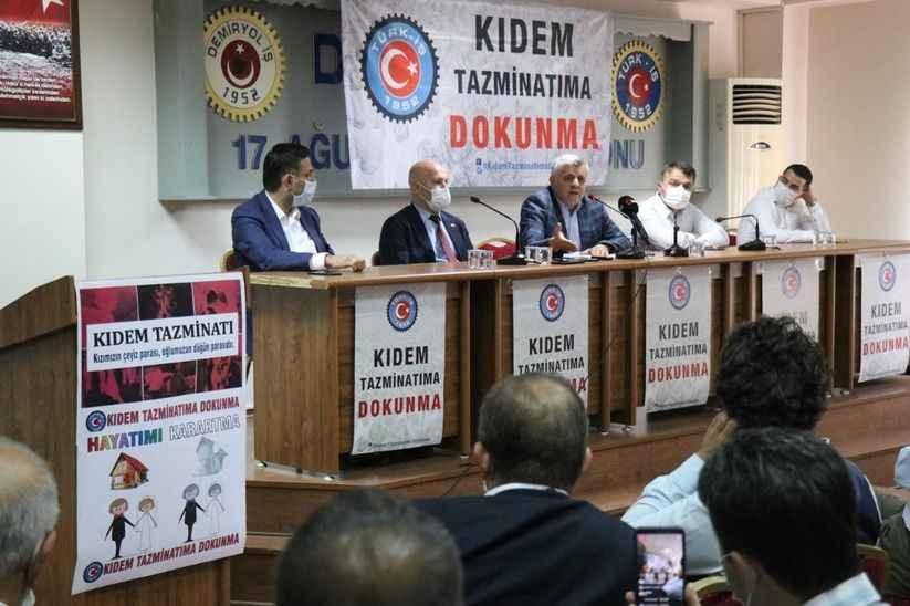 Türk-İş Sakarya İl Temsilciliğinden 'Kıdem Tazminatı' açıklaması