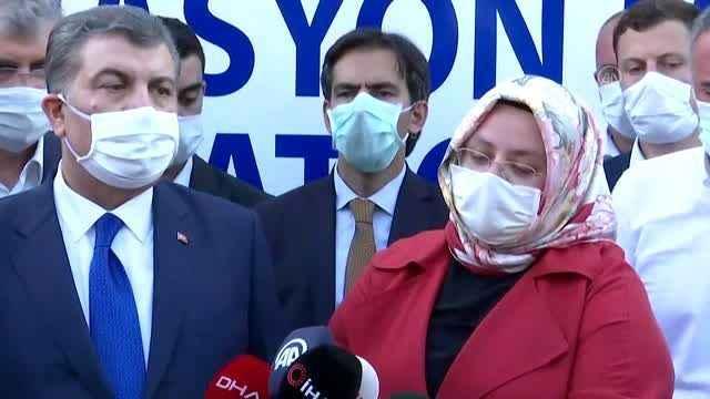 Patlamada yaralanan işçilere SYD'den destek