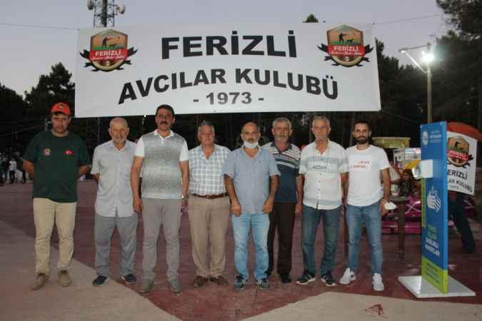 Ferizli Avcılar Kulübü üyeleri bir araya geldi