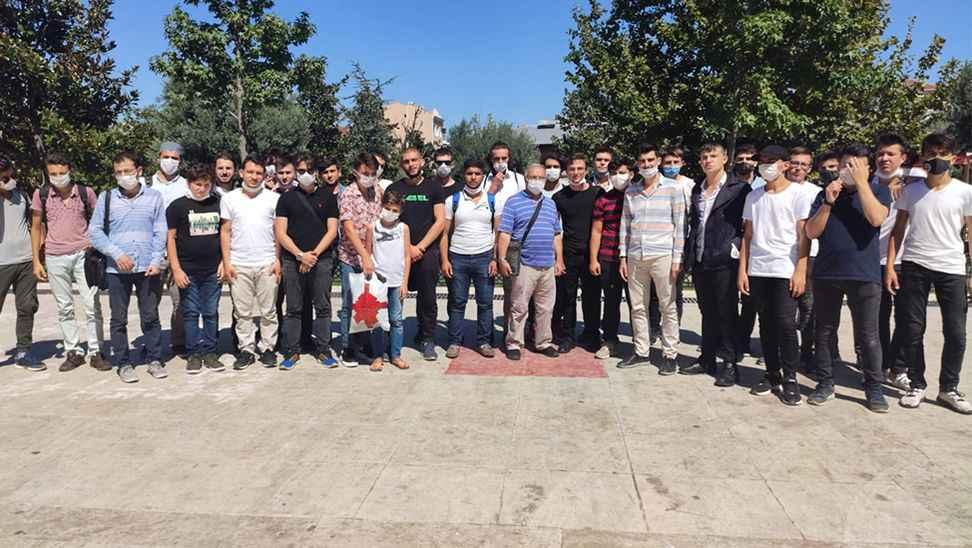 Ayasofya'da Sabah Namazı kıldılar
