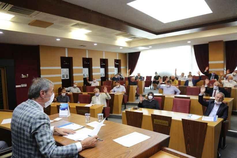 Alemdar'dan belediye meclisinde yeni yasama dönemi mesajı