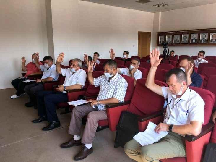 Arifiye Belediye meclisinde 5 gündem maddesi karara bağlandı