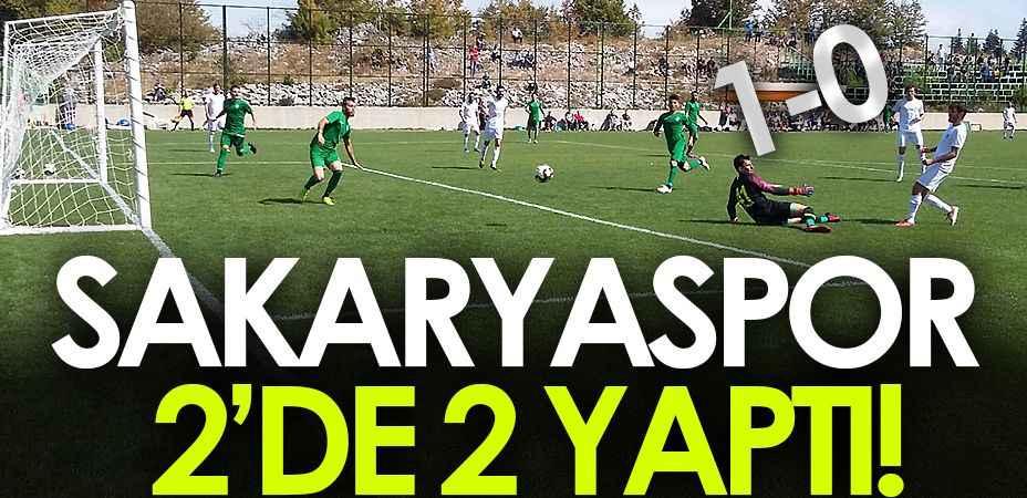 Sakaryaspor iki hazırlık maçından da galibiyetle ayrıldı!