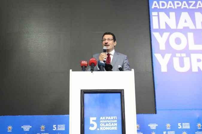 """AK Partili Yavuz ilçe kongrelerinde konuştu: """"Kökünü kazımaya devam edeceğiz"""""""