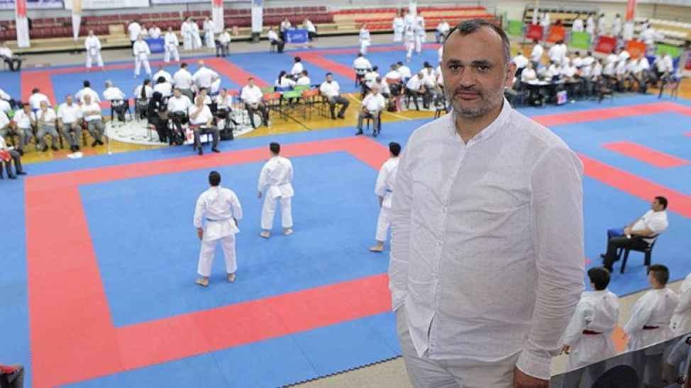 """Türkiye Karate Federasyonu Başkanı Delihasan: """"Bunca başarıyı olimpiyatlarda taçlandırmak istiyoruz"""""""